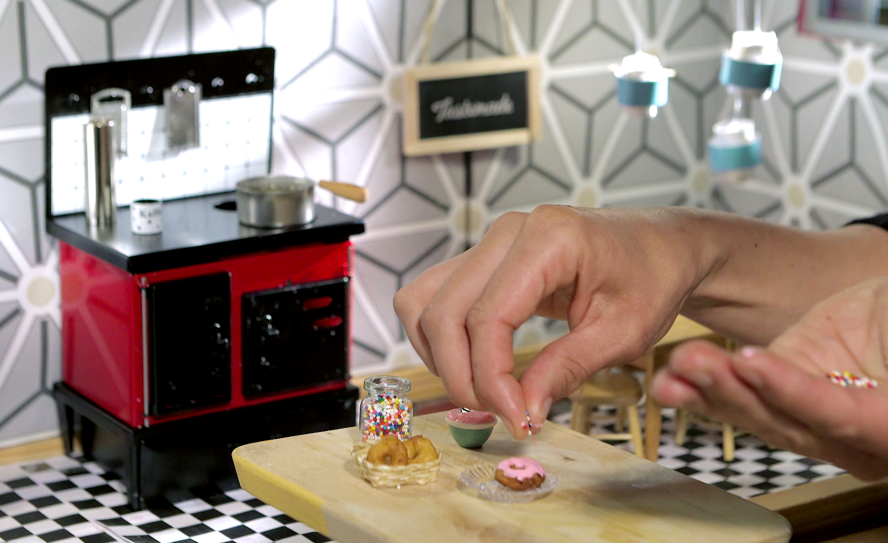 Tiny Kitchen Videos Cook Up Real Food In Doll Sized Portions The Salt Npr