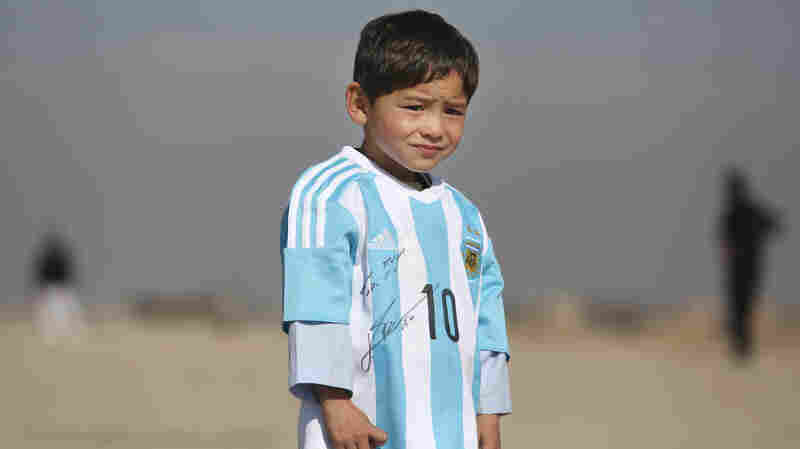 'Little Messi' And His Family Say Threats Forced Them To Flee Afghanistan