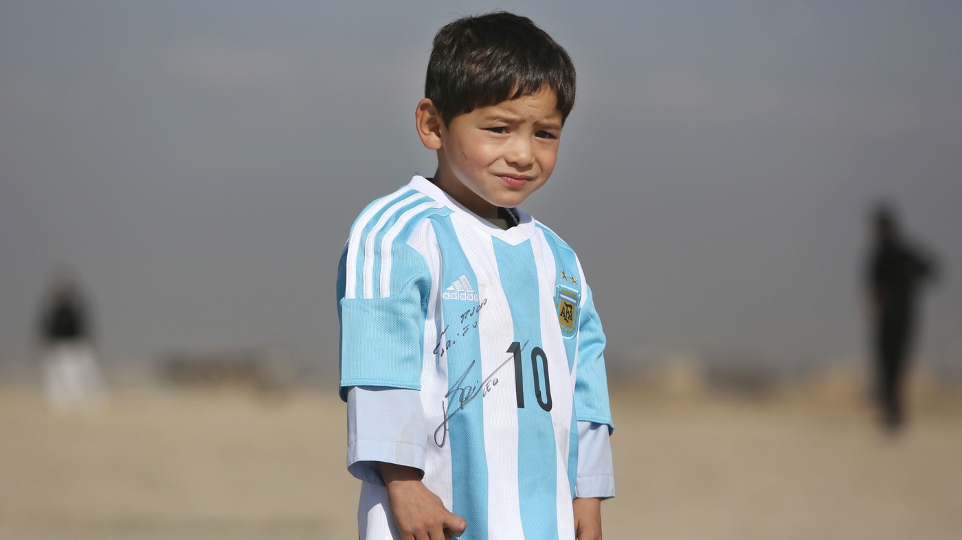 0dd3f6042da 'Little Messi' And His Family Say Threats Forced Them To Flee Afghanistan