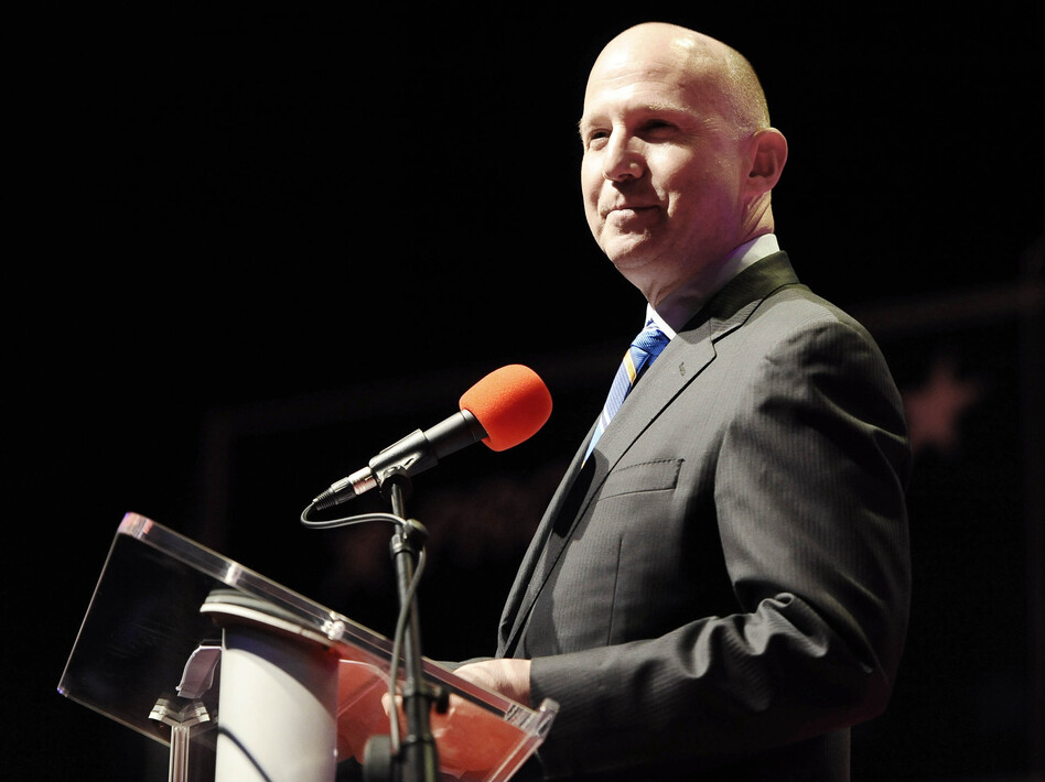 Delaware Gov. Jack Markell says his state is exploring blockchain technology for various transactions. (Jessica Hill/AP)