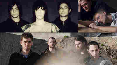 Clockwise from upper left: Autolux, Adult Jazz, Suuns