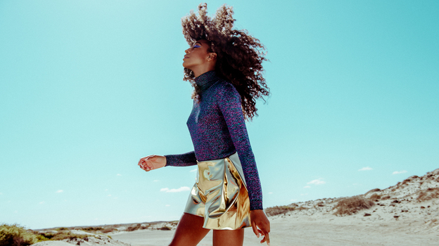 Corinne Bailey Rae's new album, The Heart Speaks In Whispers, comes out May 13. (Courtesy of the artist)