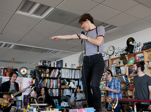 Tiny Desk Concert with Monika.