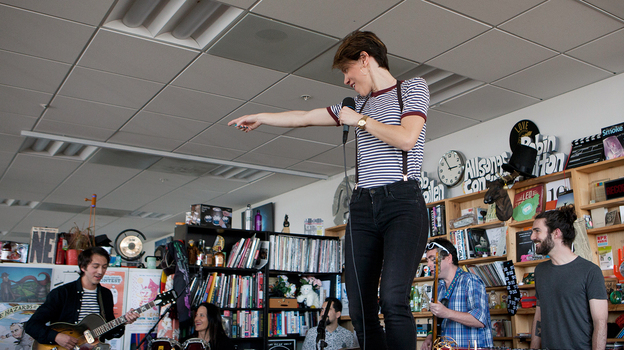 Tiny Desk Concert with Monika. (NPR)
