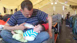 As Europe Closes Door To Refugees, Tough Choices For 2 Fathers