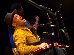 Ben Harper performs live at World Cafe Live at The Queen.