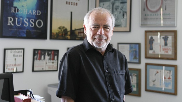 Richard Russo won a Pulitzer Prize in 2002 for his novel Empire Falls. (AP)