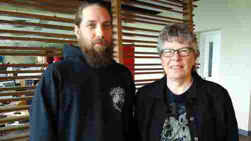 Canadian band The Grindmother is a family act, led by guitarist Rain Forest and his 67-year-old mom.