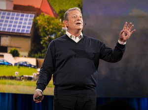 """I have come around to a very optimistic view that we are winning and ... we will ultimately prevail"" – Al Gore"