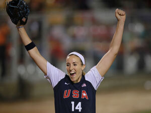 Pitcher Monica Abbott helped the U.S. softball team to a gold medal in the women's softball world championship in July 2010. Now she's signed a record-breaking contract with the Scrap Yard Dawgs, a team in the National Pro Fastpitch league.