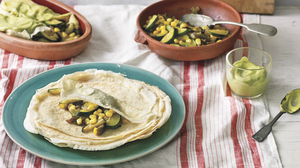 Crepes are a cousin of the enchilada, says Mexican chef Pati Jinich. A ...