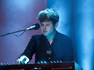 James Blake performs live during Berlin Festival Day 2 at the Arena Treptow on May 30, 2015 in Berlin, Germany.