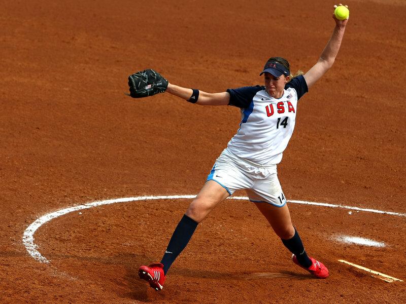 Softball Pitcher Monica Abbott Signs Record $1 Million Contract ...