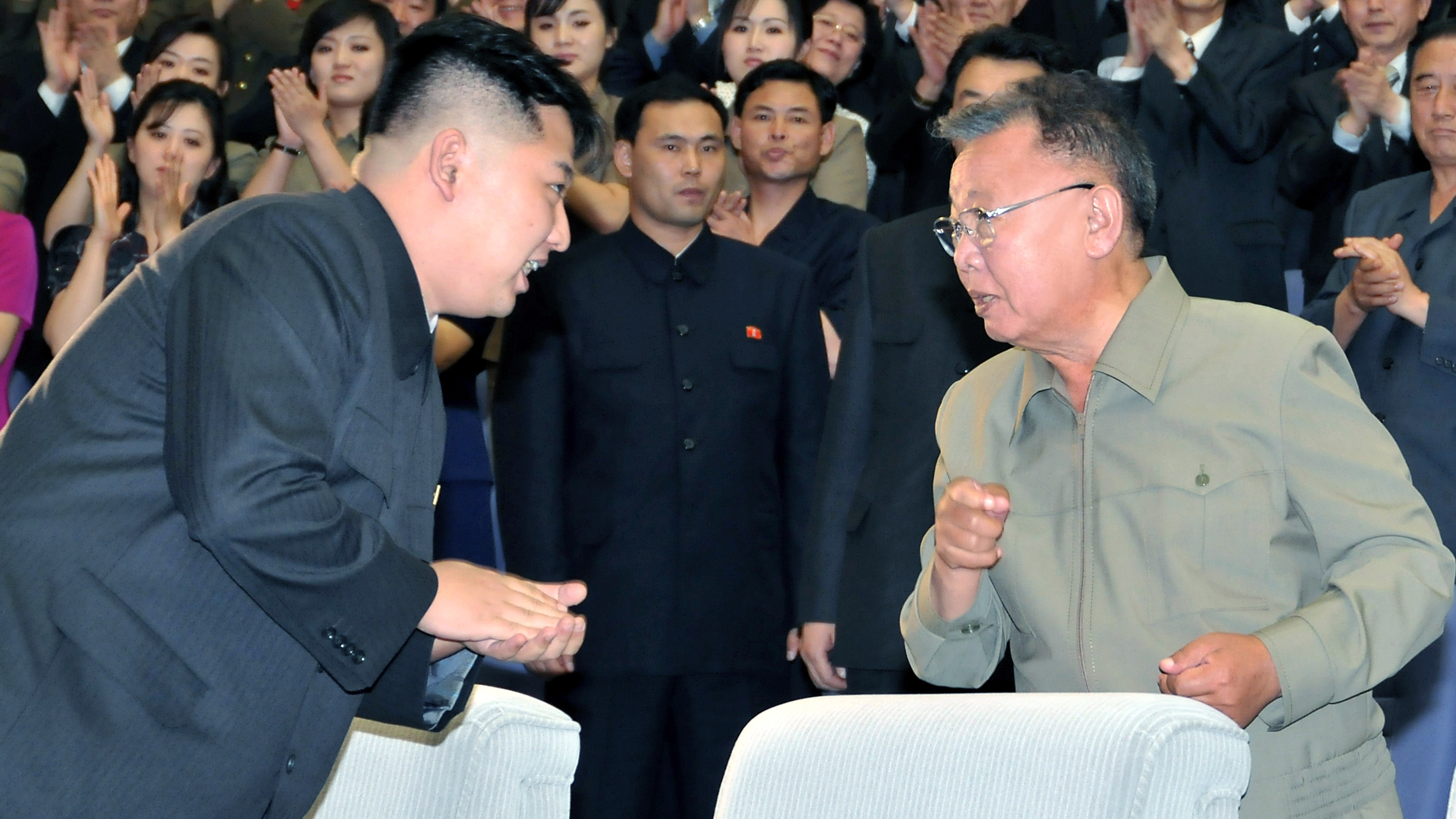 The eldest son, Kim Jong-il, said that he did not want to inherit power in the DPRK January 25, 2009 55