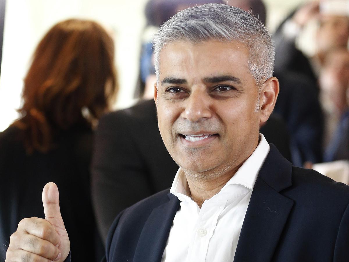 Sadiq Khan Of The Labor Party Elected London's Mayor : The ... Sadiq Khan
