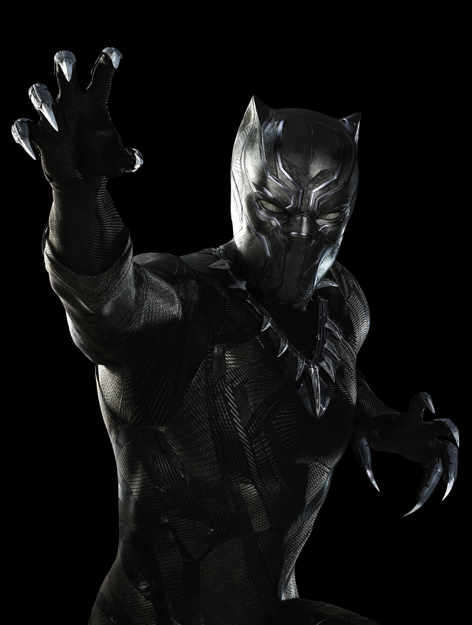 Chadwick Boseman's Black Panther debuted in <em>Captain America: Civil War</em>. He'll get his own movie in 2018. (Zade Rosenthal/Marvel)