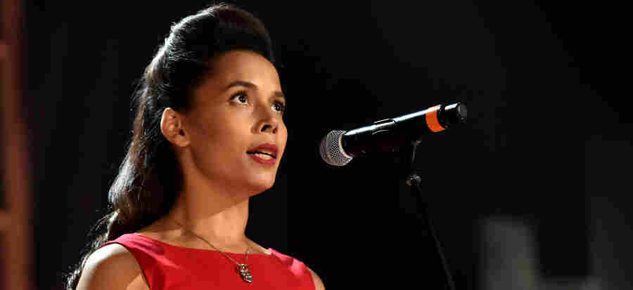 """North Carolinian Rhiannon Giddens, who opposes HB2, says she struggled with whether to speak out against the bill from stage: """"How can I use my platform for good without jeopardizing everything so that I don't have that platform anymore?"""""""