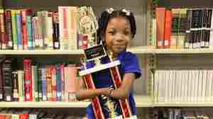 First-grader Anaya Ellick was born with no hands. But that didn't stop her from winning a national penmanship contest.
