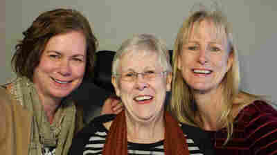 Patricia Mishler, with her daughters Suzanne (left) and Janette Lynch.