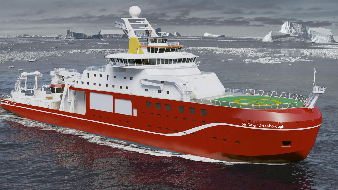 Scientists Find New Vessel For >> Boaty Mcboatface By Another Name Sir David Attenborough Is Chosen