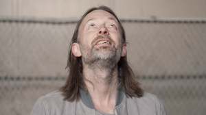 "Thom Yorke in a scene from a new Radiohead video for the song, ""Daydreaming."""