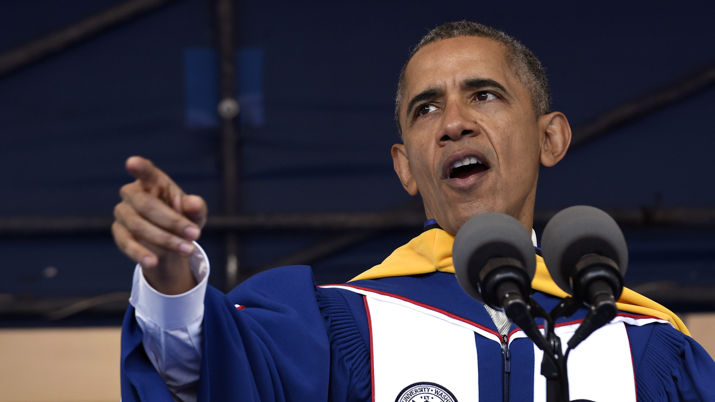 obama gets all in his blackness at howard code switch npr in commencement speech obama advises howard university grads on creating change