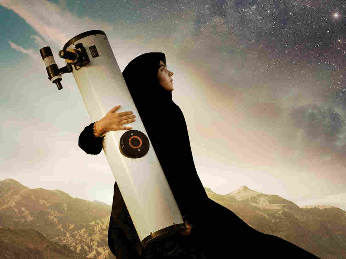 Sepideh is an Iranian teenage girl who is in love with astronomy and wants to be an astronaut.