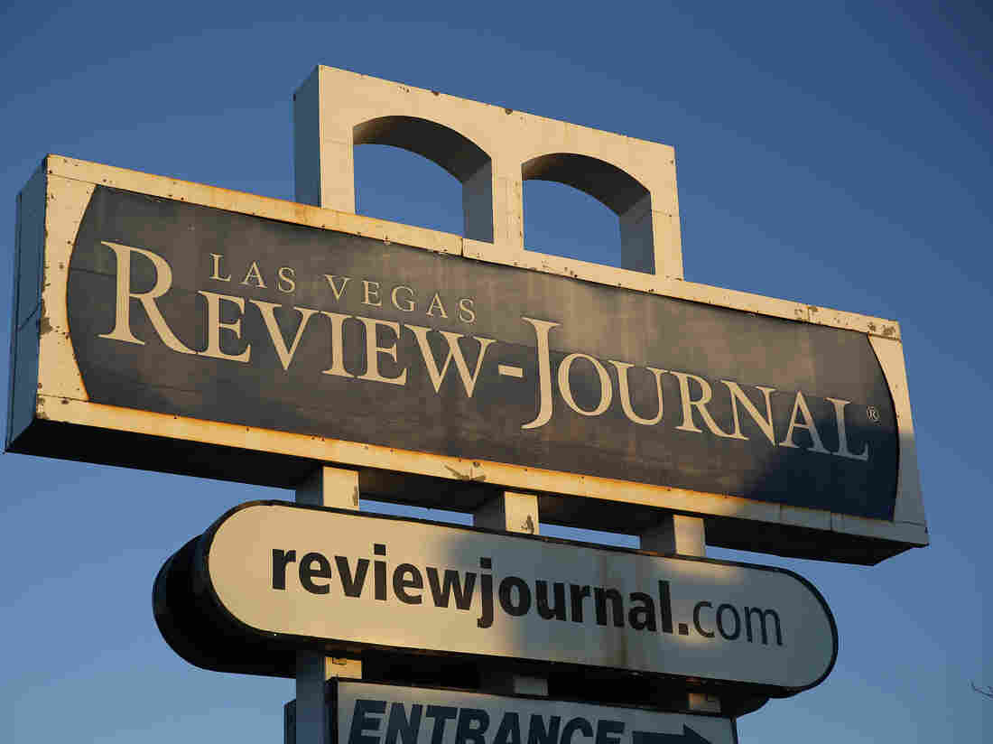 The Las Vegas Review-Journal was bought by billionaire casino mogul Sheldon Adelson late last year.