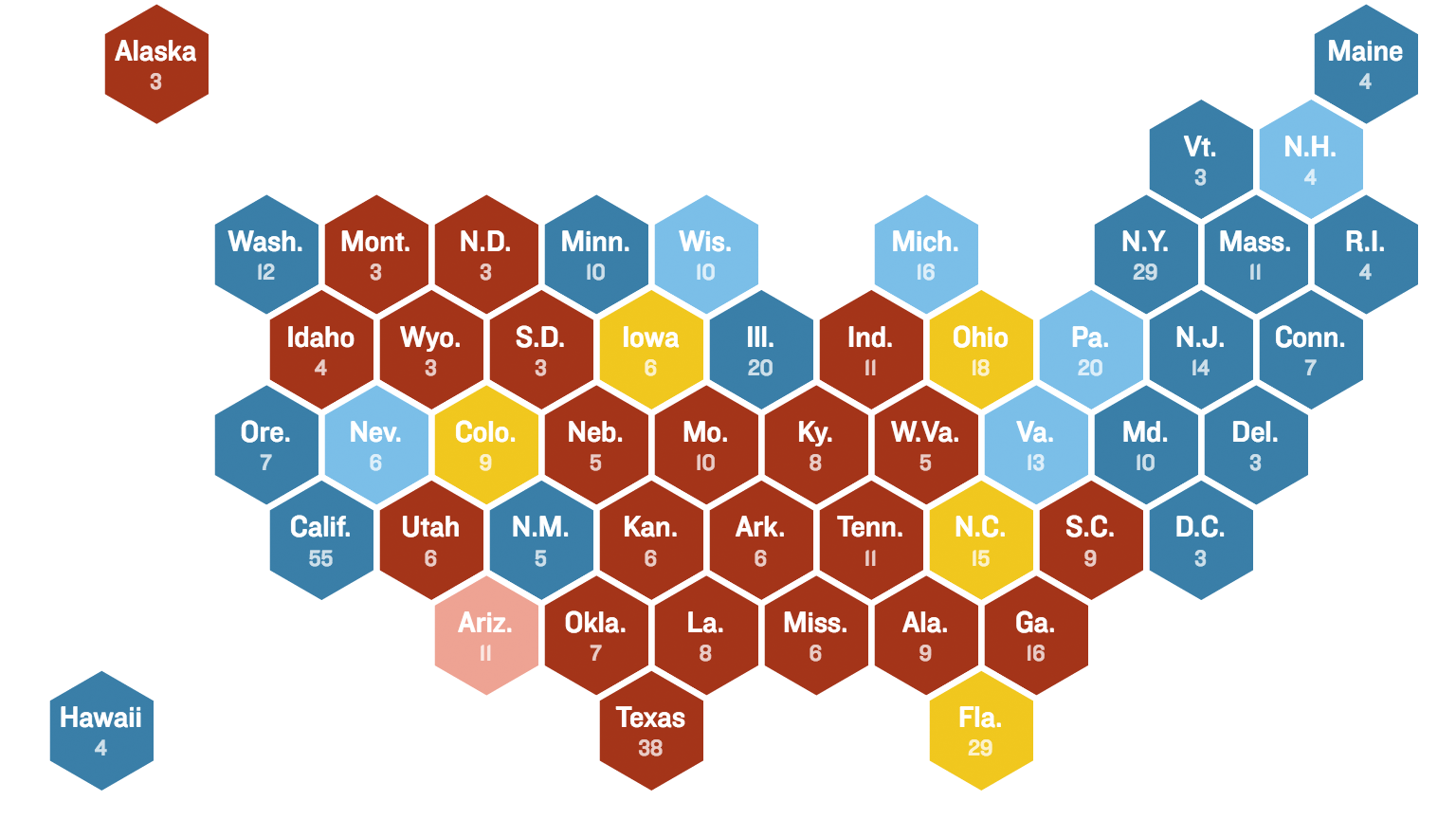 Can you hear us now election map