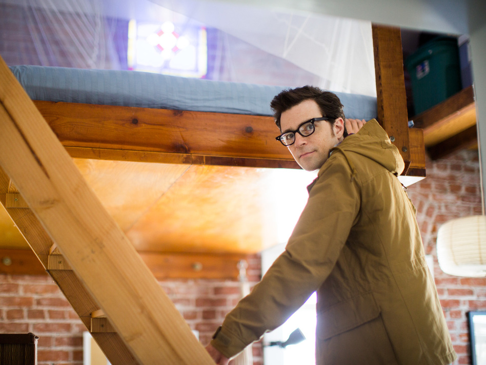 "Weezer frontman Rivers Cuomo. The band's latest release is the self-titled ""White"" album."