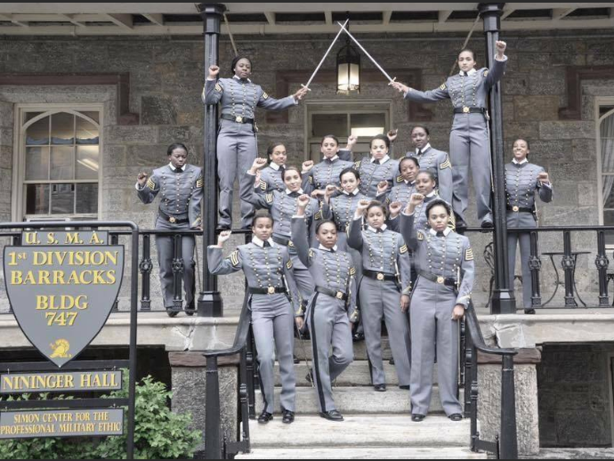 West Point Cadets At Center Of Storm After Raising Fists In Photo