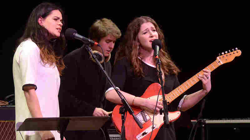 Overcoats perform live on Mountain Stage