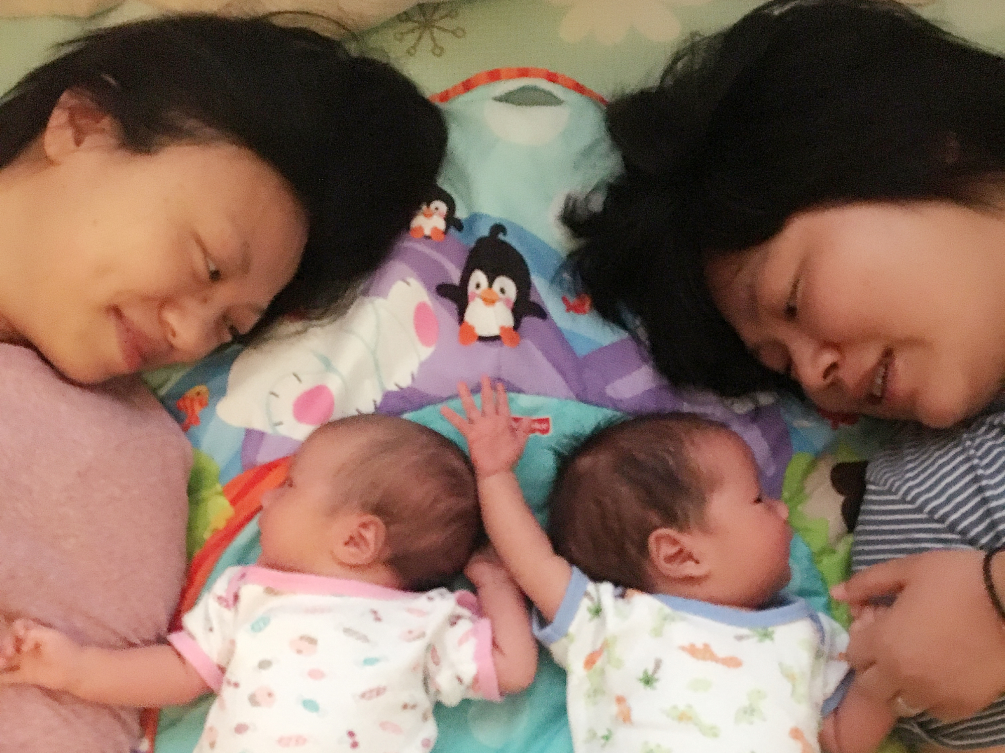 Undaunted by chinas rule book lesbian couple welcomes their newborn twins