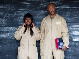 Techno legend Robert Hood and his daughter Lyric make up Floorplan.