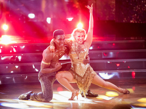 Keo Motsepe was partnered with Full House actress Jodie Sweetin this cycle. They earned perfect 10s Monday night — and were then voted off the show.
