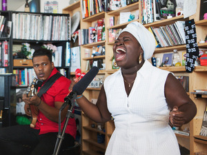 Tiny Desk Concert with Daymé Arocena.