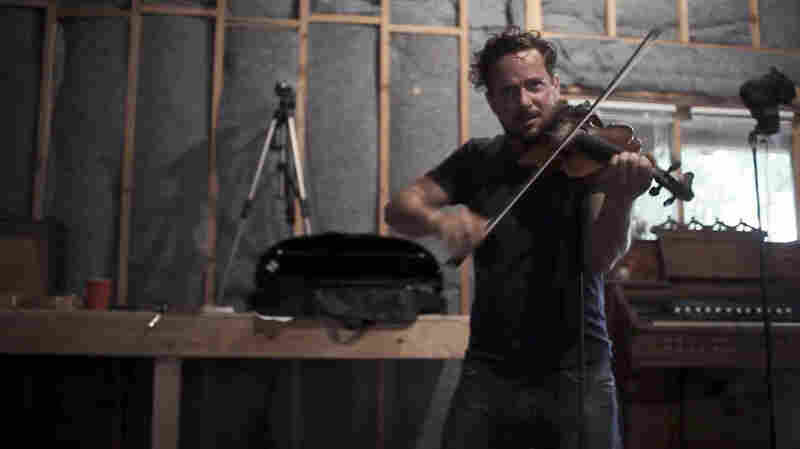 "A fiddler player performs in a scene from a new video for the song ""Liars,"" by Gregory Alan Isakov."