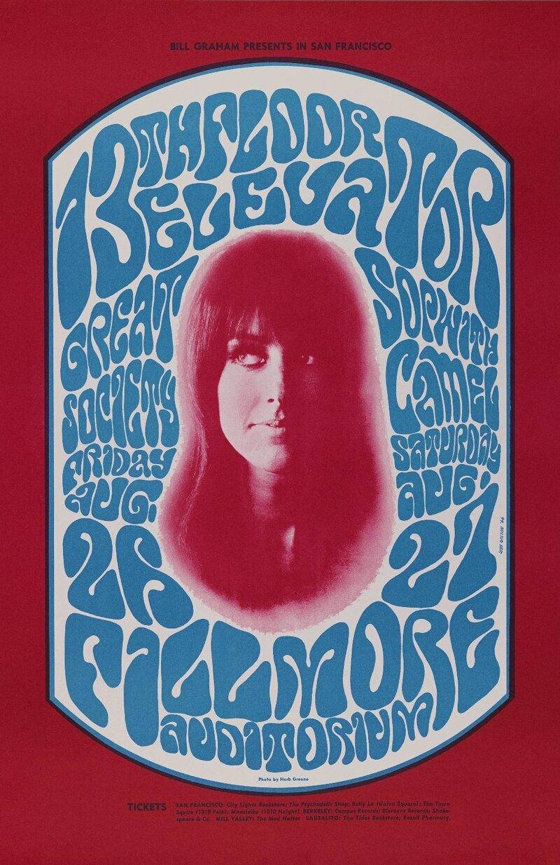 Psychedelic Font: How Wes Wilson Turned Hippie Era Turmoil