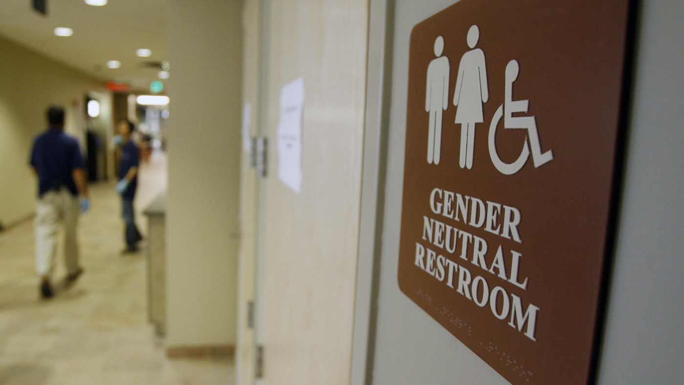 when a transgender person uses a public bathroom, who is at risk