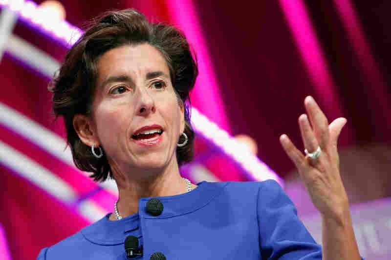 Rhode Island Gov. Gina Raimondo speaks during Fortune's Most Powerful Women Summit in Washington, D.C., on October 13, 2015.