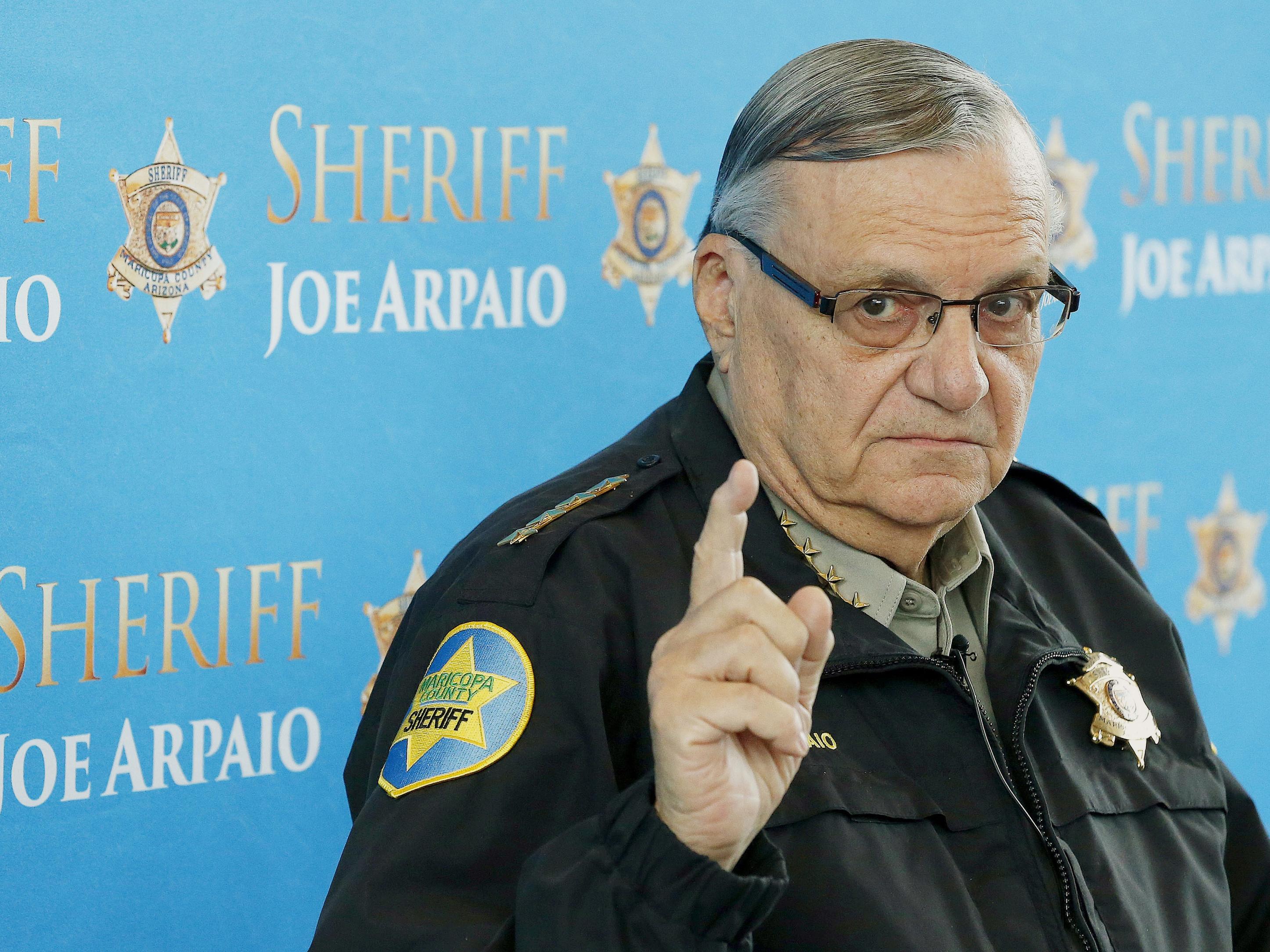 In Racial Profiling Lawsuit, Ariz. Judge Rules Sheriff Arpaio In Contempt Of Court