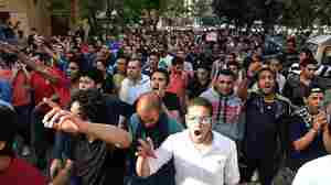 Amid Crackdown, Egypt Sentences 152 People To Prison For Protesting