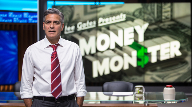 George Clooney stars as Lee Gates in Money Monster. (Sony Pictures)