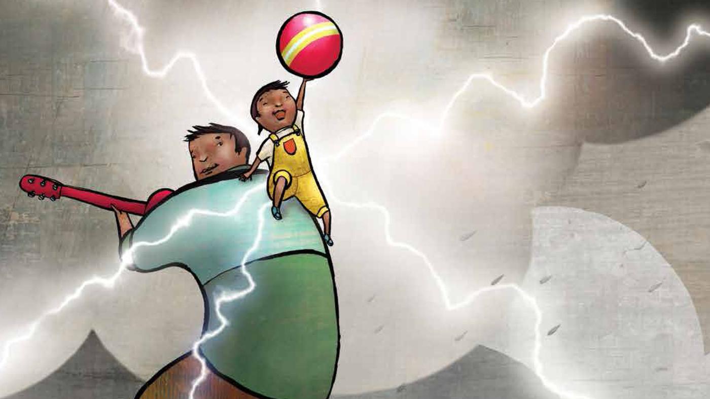Sherman Alexie On His New Kids' Book ('Thunder Boy Jr ...