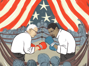Sen. Lamar Alexander, R-Tenn., and Education Secretary John B. King Jr. in the ring over Title I enforcement.