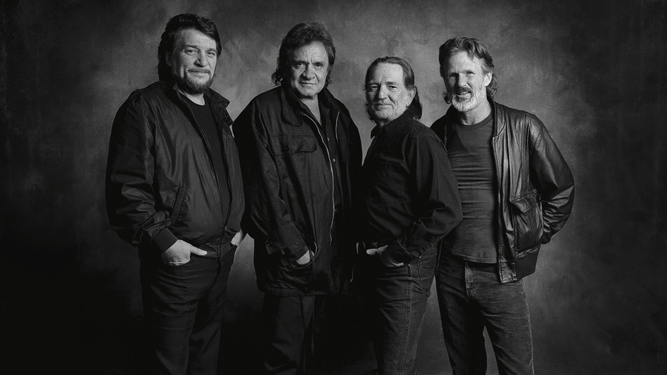 The Highwaymen. From left: Waylon Jennings, Johnny Cash, Willie Nelson and Kris Kristofferson. (Courtesy of the artist)