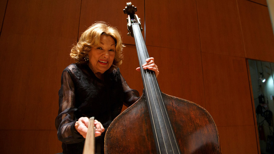Bassist Jane Little performed with the Atlanta Symphony Orchestra for more than 71 years — a world record. (Atlanta Symphony Orchestra)