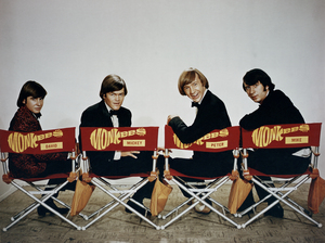 Left to right: The Monkees' Davy Jones, Mickey Dolenz, Peter Tork and Mike Nesmith, circa 1970. Jones died in 2012.