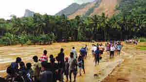 Hundreds Of Families Missing As Landslides Crush 3 Villages In Sri Lanka