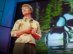 Janine Benyus at TEDGlobal in 2009.